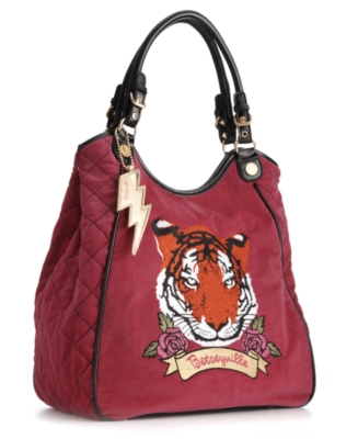 Betseyville by Betsey Johnson Handbag, Tiger-Lily Tote