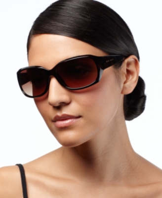 Nine West Sunglasses, Sculpted Rectangle