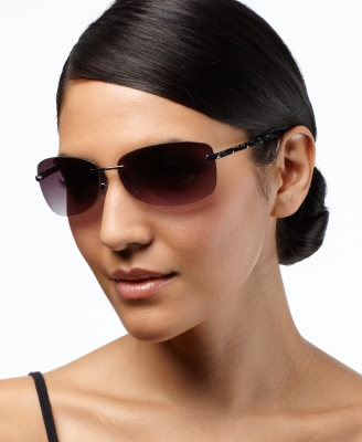 Nine West Sunglasses, Rimless