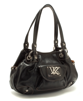 Kathy Van Zeeland Handbag, Triple Play Ring Shopper