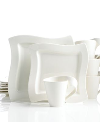 Villeroy & Boch Dinnerware, New Wave 12 Piece Set