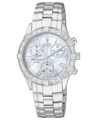 Sterling Chronograph Watch - Citizen
