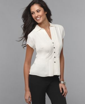 Find the Perfect White Blouse in your Size | WorkChic