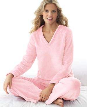 Charter Club Pajamas, Supersoft V Neck