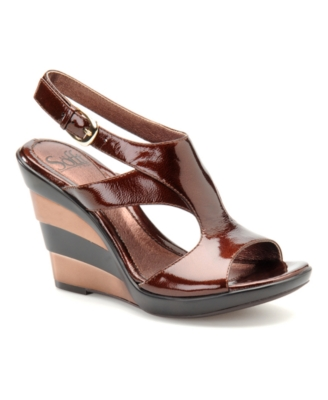Sofft Shoes, Adelina Wedge Sandals Women's Shoes