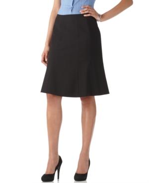 Calvin Klein Skirt, Gored Knee Length