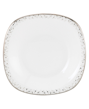 Lenox Lifestyle Dinnerware, Silver Mist Square Bread and Butter Plate