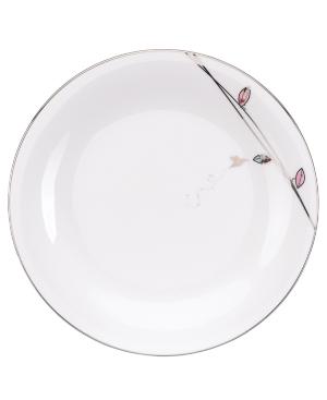 Lenox Lifestyle Dinnerware, Silver Song Dinner Plate