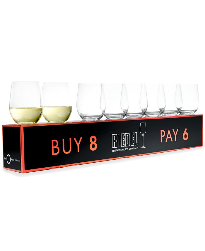 Riedel - Wine Glasses, O Buy 8 Pay 6 Chardonnay Set
