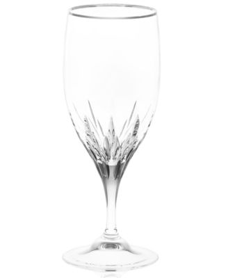 Vera Wang Wedgwood Iced Beverage Glass, Duchesse Platinum