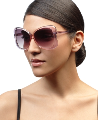 Jessica Simpson Sunglasses, Butterfly Square