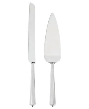 Monique Lhuillier Cake Knife and Server, Modern Love