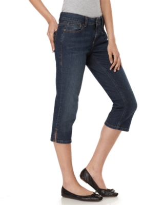 DKNY Jeans Petite Cropped Jeans, Ludlow Downtown Blue Wash