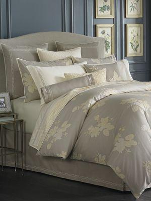 Martha Stewart Collection Linen Floral Bedding Collection