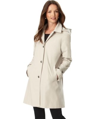 Calvin Klein Coat, Long Raincoat
