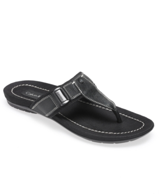 Calvin Klein Sandals, Brawl Thongs Men's Shoes