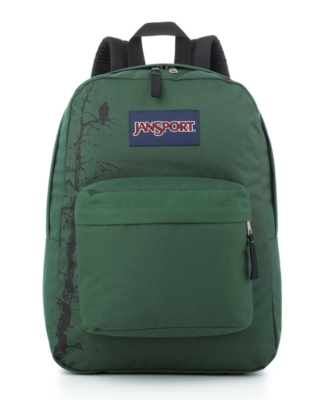 Jansport Backpack, Super G Series Homegrown Green