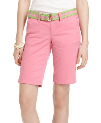 Grane Shorts, Sicily Bermuda with Belt