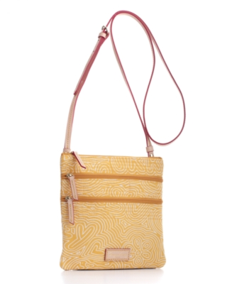Dooney & Bourke Handbag, DB Sport Pop Triple Zip Crossbody Bag