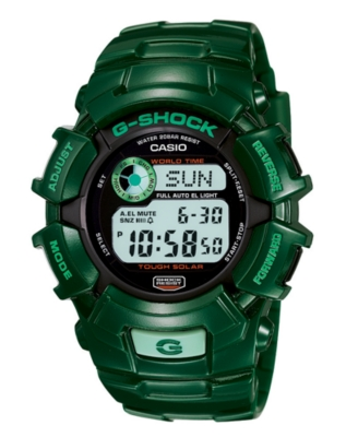 G-Shock Watch, Men's Green Resin Strap G2300GR-3