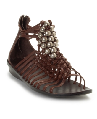 B. Makowsky Shoes, Gaby Sandals Women's Shoes - The Gladiator Shoe