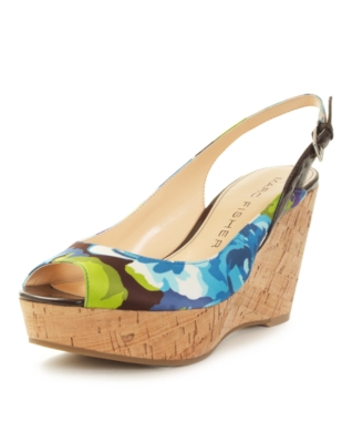 Marc Fisher Shoes, Genoa Wedge Sandals Women's Shoes