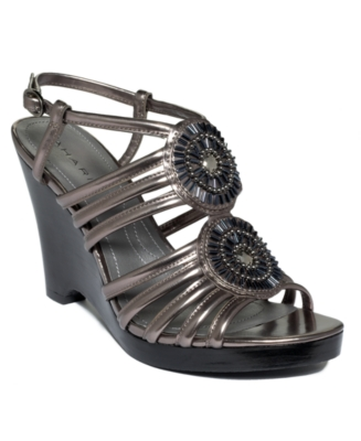 Tahari Shoes, Becky Platform Sandals Women's Shoes