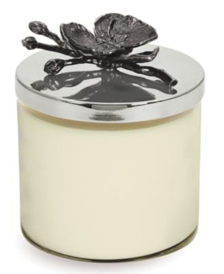 Black Orchid Candle Holder
