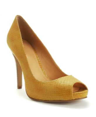 Nine West Shoes, Escher Peep Toe Pumps Women's Shoes