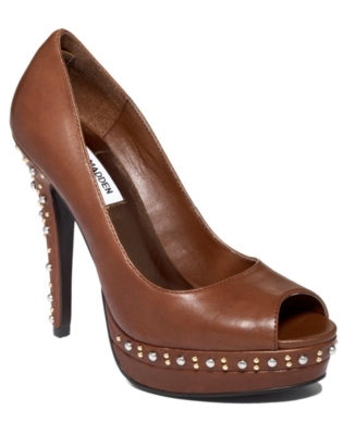 Peep Toe Pumps - Steve Madden