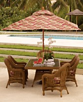 Macys Hideaway Wicker Outdoor Dining Furniture Dining