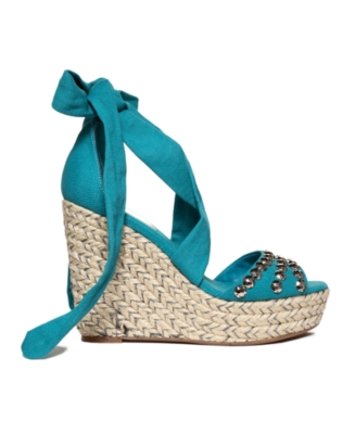 INC International Concepts Shoes, Tasia Espadrille Wedges Women's Shoes