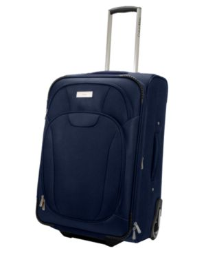 "Calvin Klein Suitcase, 21"" Manhattan Carry-On Upright - Travel Bags"