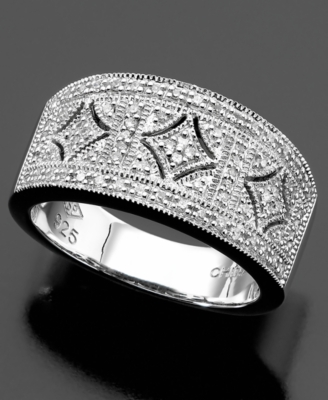 Sterling Silver Ring, Diamond (1/4 ct. t.w.)