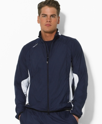 RLX Ralph Lauren Jackets, Court Track Jacket - Sporty Men's Track Jackets
