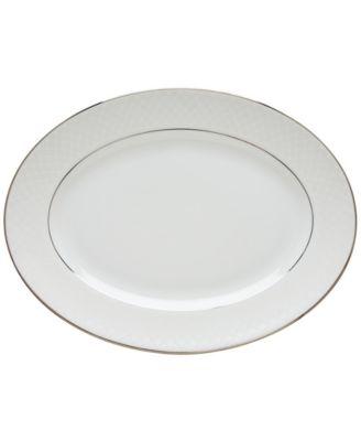 Lenox Dinnerware, Venetian Lace Large Oval Platter