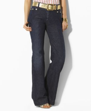 Lauren Jeans Co. Jeans, Brighton Wide Leg Canal Wash