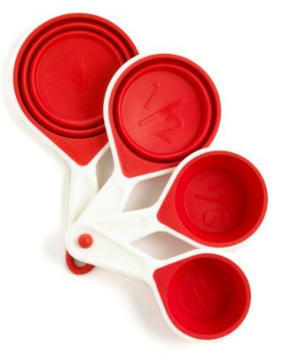Martha Stewart Collection Measuring Cups, Set of 4 Collapsible