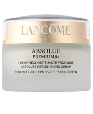 Lancôme ABSOLUE PREMIUM Bx Absolute Replenishing Cream SPF 15 Sunscreen, 2.6 Oz.