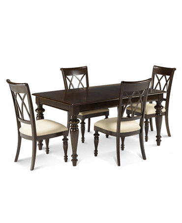 Bradford 5 Piece Dining Room Furniture Set Furniture Macy 39 S