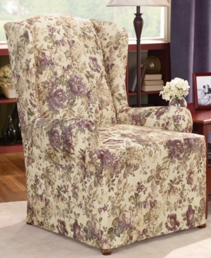 Sure Fit Slipcovers, Chloe Wing Chair Cover Bedding