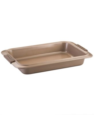 "Anolon Advanced Bronze 9"" x 13""  Rectangular Cake Pan"