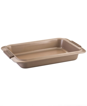 "Anolon Rectangular Cake Pan, 9"" x 13"" Advanced Bronze"