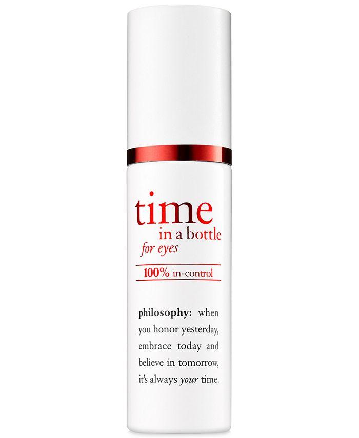 philosophy - Time In A Bottle For Eyes 100% In-Control Repair-Renew-Resist Serum