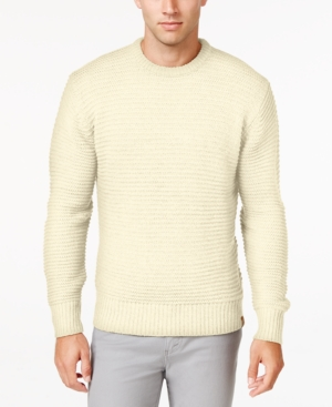 Men's Vintage Style Sweaters – 1920s to 1960s Weatherproof Vintage Mens Chunky Crew Sweater $34.99 AT vintagedancer.com