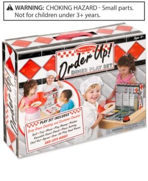 Melissa and Doug Kids' Order Up! Diner Play Set