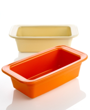 Fiesta Bakeware, Loaf Pan - Retired Colors