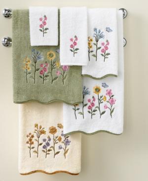 """Avanti Bath Towels, Premier Country Floral 27"""" x 52"""" Bath Towel"""