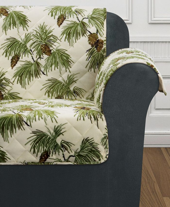 Sure Fit - Holiday Motifs Quilted Chair Slipcover