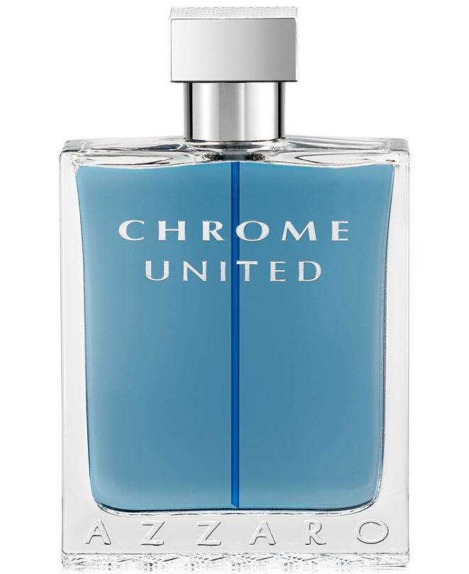 Azzaro Men's CHROME UNITED Eau de Toilette Spray, 3.4 oz